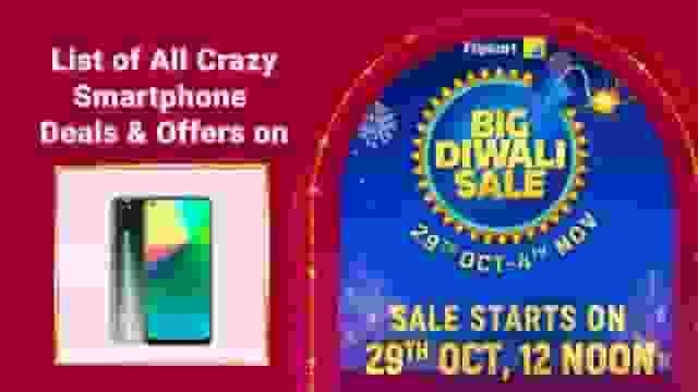 List of All Crazy Smartphone Deals & Offers on Flipkart Big Diwali Sale 2020