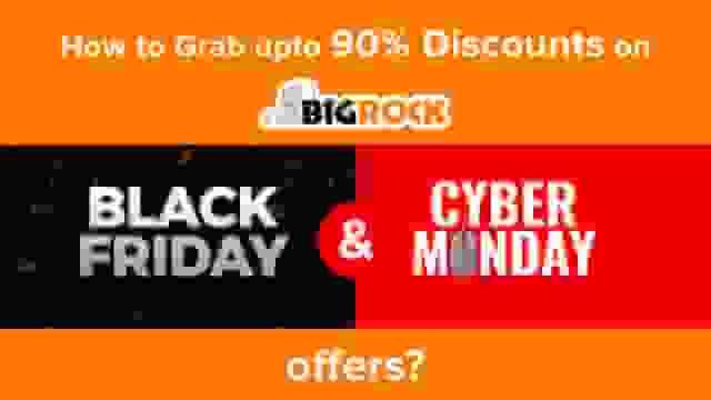 BigRock Black Friday Sale