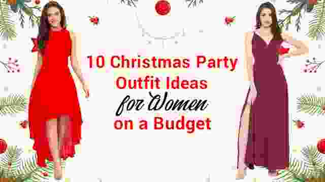 10 Christmas Party Outfit Ideas for Women with Christmas Sale Offers