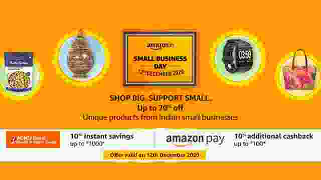 Amazon Small Business Day Sale : All You should know about Dates, Products, Offers and more