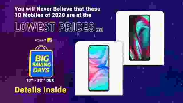 You will Never Believe that these 10 Mobiles of 2020 are available at the Lowest Price on Flipkart Big Saving Days Sale : Details Inside