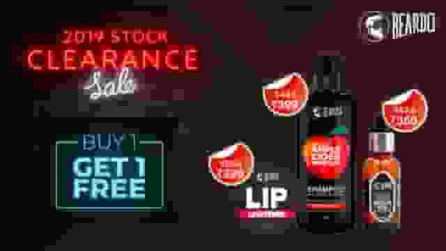 Beardo 2019 Stock Clearance Sale
