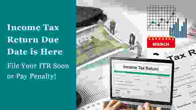 Income Tax Audit Due Date Extension Nearing its End : File Your ITR Soon or Pay Late Fee Penalty!