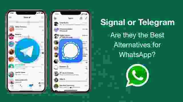 Signal or Telegram : Are they the Best Alternatives for WhatsApp?