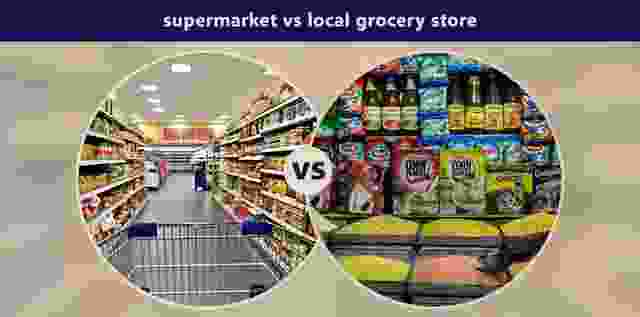 Why buy from Mega Marts instead of Local Shops?