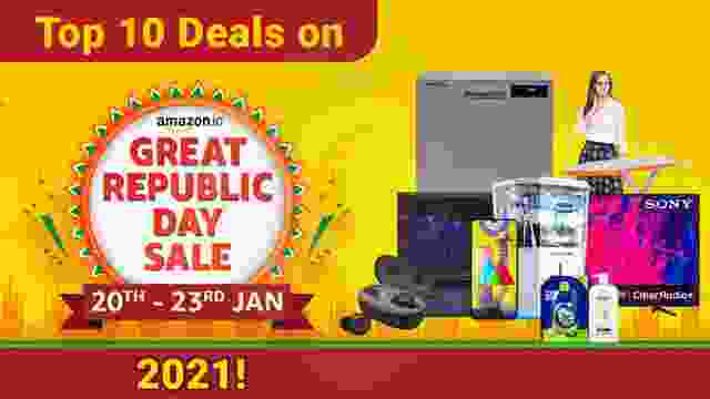 Top 10 Deals on Amazon Great Republic Day Sale 2021
