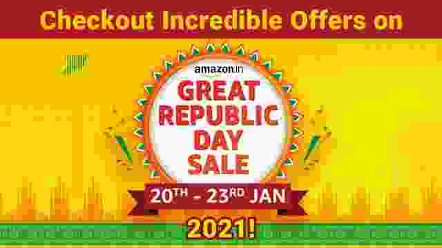 Checkout Incredible Offers on Amazon Great Republic Day Sale 2021