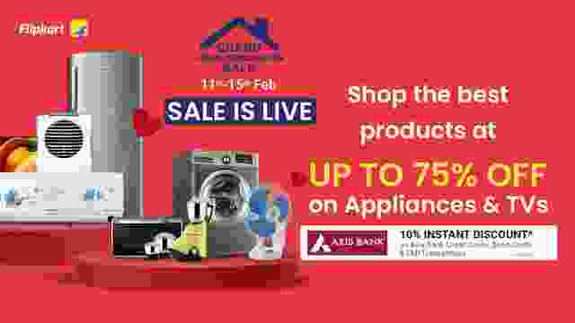 Flipkart Grand Home Appliances Sale is Live
