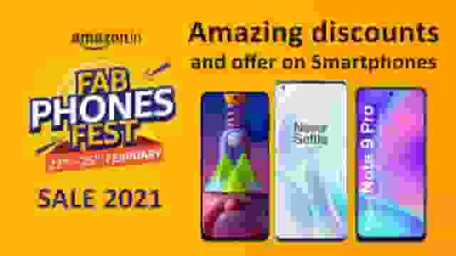 Amazon Fab Phone Fest Sale 2021