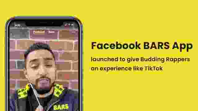 Facebook BARS App launched to give Budding Rappers an experience like TikTok