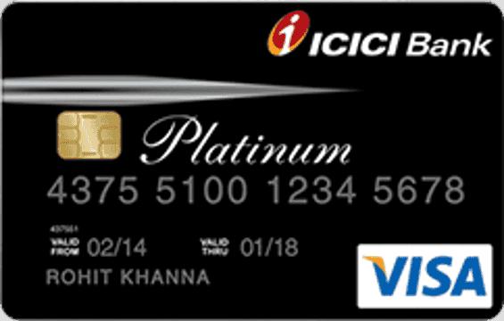 ICICI Platinum Lifetime Free Credit Card
