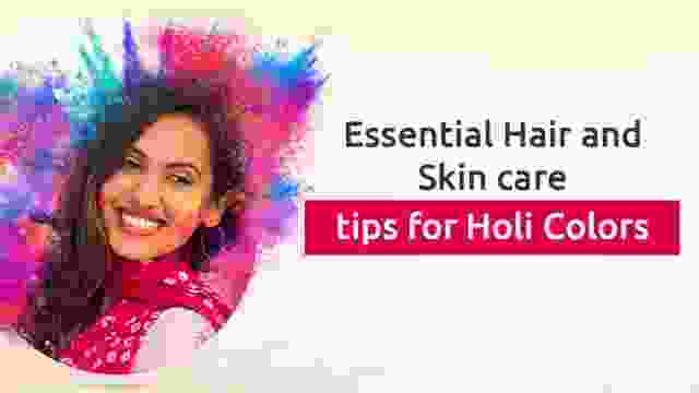 Holi Haircare and skincare