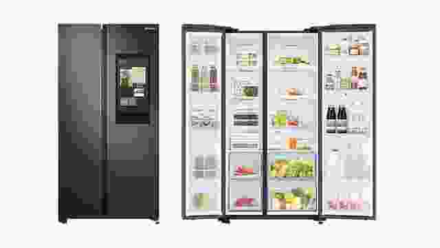 Samsung 673 Litre Family Hub Side By Side Smart Refrigerator