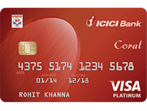 ICICI Coral fuel card