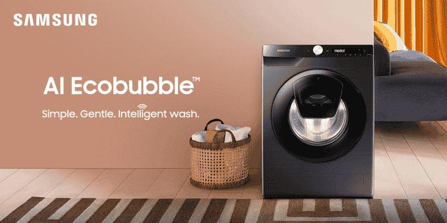 Samsung AI-enabled washing machines
