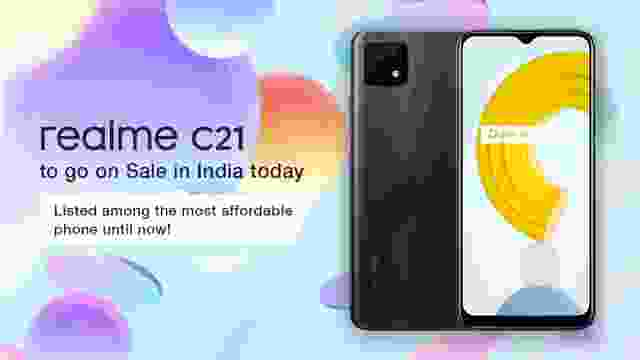 Realme C21 Specification, price and availability.