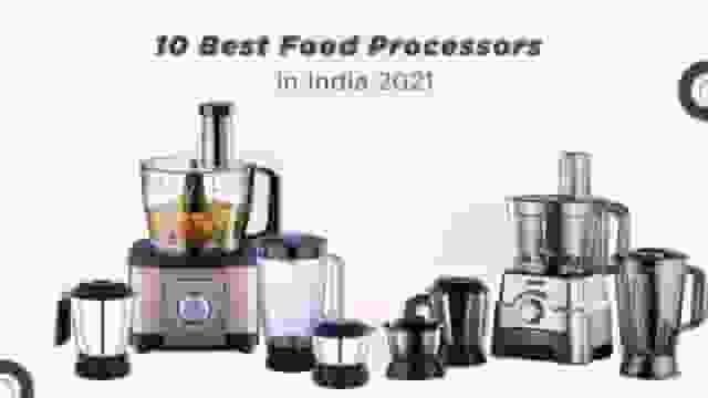 top 10 food processors