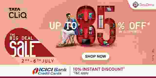 Tata Cliq The Big Deal Sale 2021