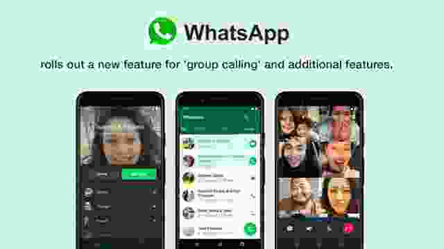 WhatsApp rolls out a new feature for 'group calling' and additional features.
