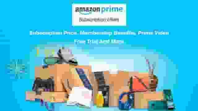 Amazon Prime subscription plans
