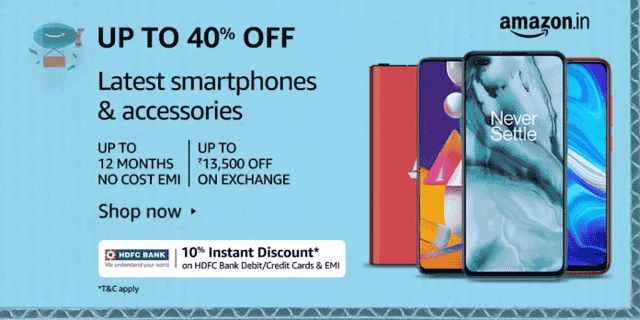 best Amazon Prime Day sale offer on Mobiles