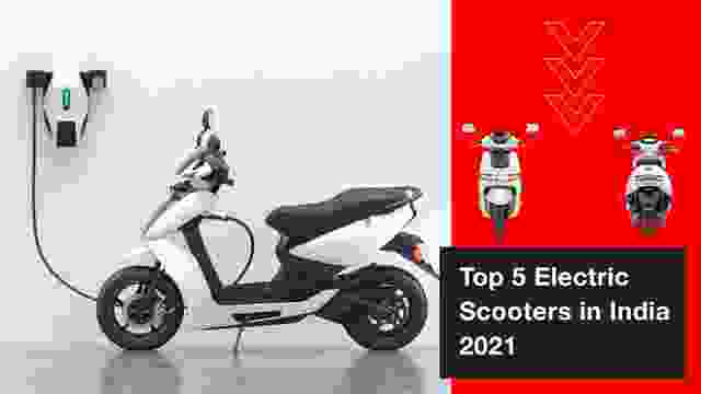 Top 5 Best Electric Scooters in India 2021