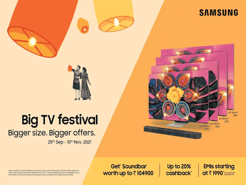 Samsung Big TV Festival sale announced: Shoppers can get free soundbar and more