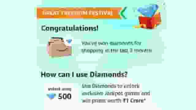 Amazon diamond points