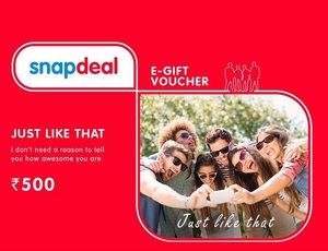 Snapdeal gift card