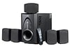 F d speakers 5 1 channel with usb mmc slot and pll fm f700u