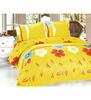 Light-orange-floral-printed-double-bedsheet-set-light-orange-floral-printed-double-bedsheet-set-pwx5m4