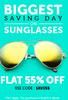 Get Upto 80% Off + flat 55% Off on Sunglasses