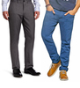 Get flat 15% extra off on Men Trousers and Chinos || Get flat 5% extra off  on Health & Beauty products