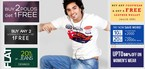 Zovi Latest Offers : Buy any 2 Polos or tees and get 1 Free || Buy any 2 Womens footwear and get 1 free