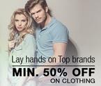 Flipkart : Minimum 50% off on Apparel & Accessories