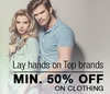 Flipkart : Minimum 50% off on Apparel & Accessories