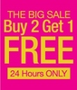 Buy 2 Get 1 Free on all products