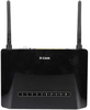 D-Link DSL-2750U Wireless N 300 ADSL2+ 4-Port Wi-Fi Router with Modem (Black)