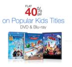 Amazon: 51% off on Blu-ray, 40% off on Kids Movies