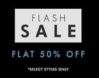 Flat 50% off on Apparels