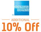 10% Cash back on American Express Cards