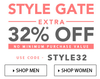 Upto 80% off + extra 32% off (no minimum purchase)