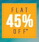 Flat 45% Off on Select Catalogue