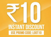 Get Flat Rs.10 off on Recharge (Valid on App)