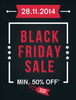 Get Minimum 50% off on Black Friday Sale