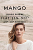 Flat 25% off on selected style by Mango