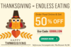 ThanksGiving Special - Foodpanda New 50% Off Coupon