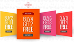 Buy 2 Get 1 Free Sitewide