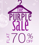 Flat 70% off on clothing, Shoes, bags, accessories, etc