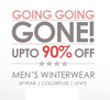 Upto 90% off on selected products
